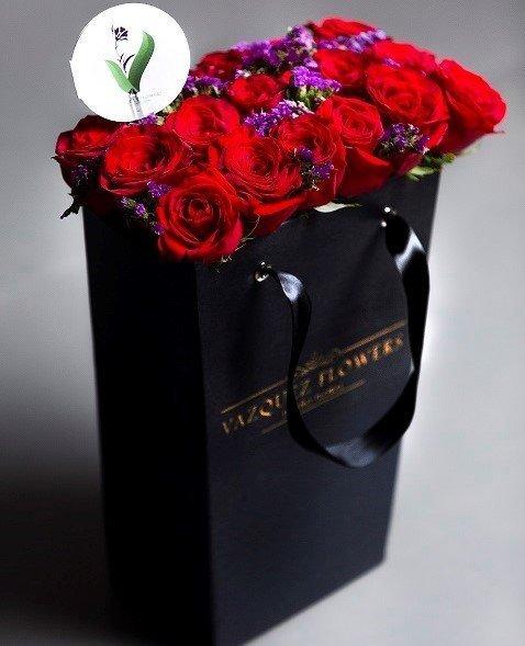FlowerBox Julliete Black