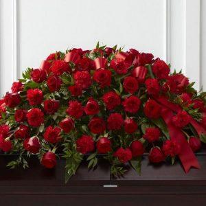 Cubreferetro 100 rosas