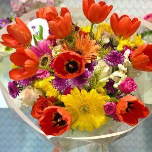 Ramo Tulipanes en Primavera